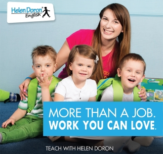 Conviértase en un maestro de inglés certificado Helen Doron: los mejores maestros de EFL en el mundo.