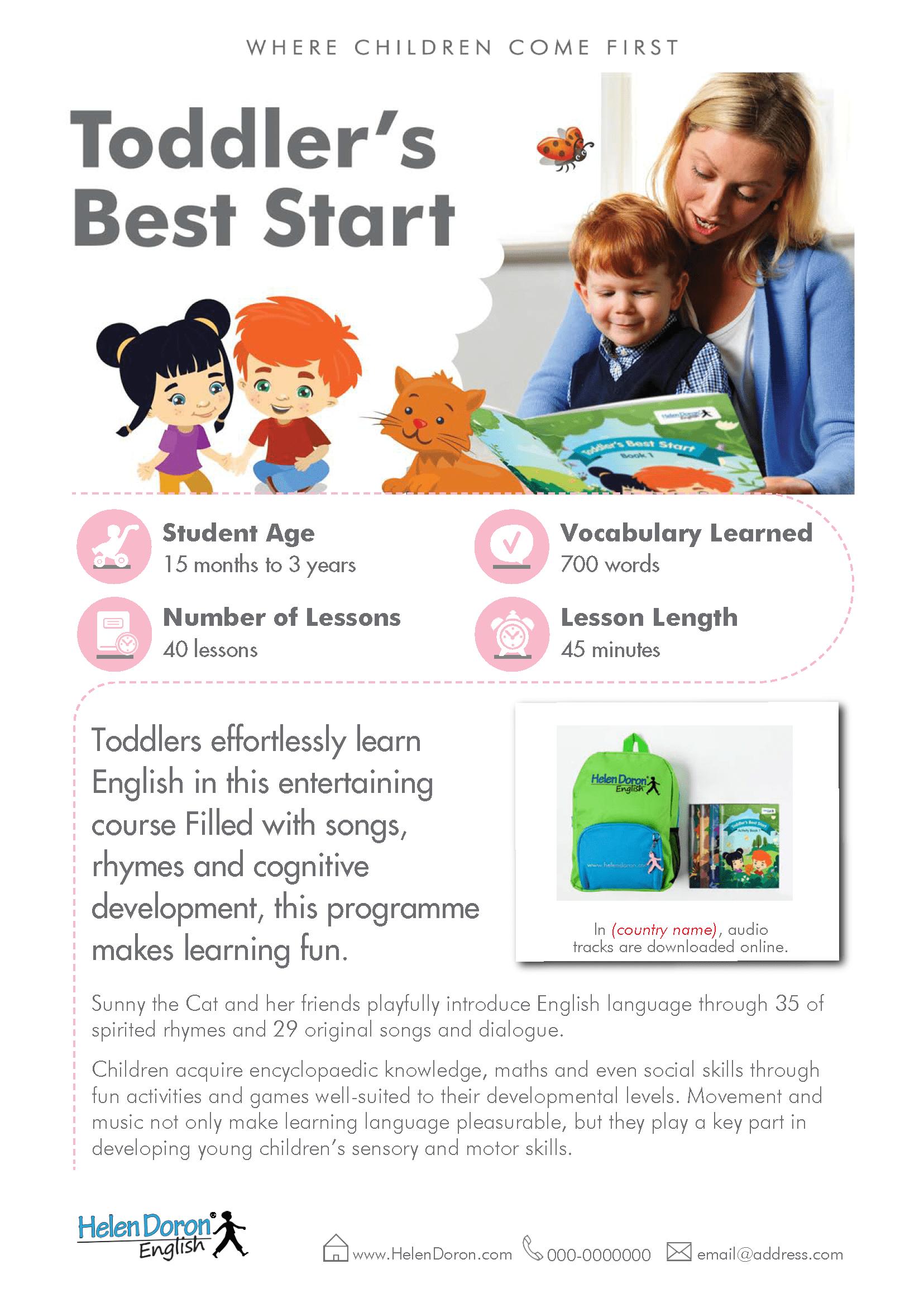 Descargar - Toddler's Best Start